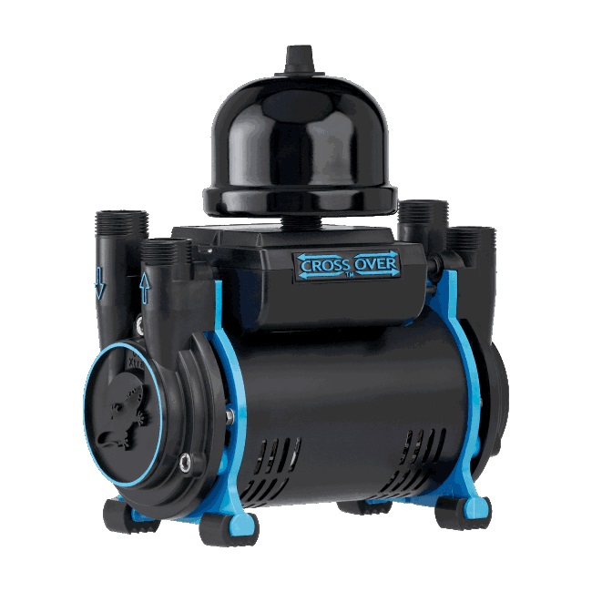 Salamander CT80BU 2.6 Bar Shower Pump Twin Impeller Universal Head Regenerative