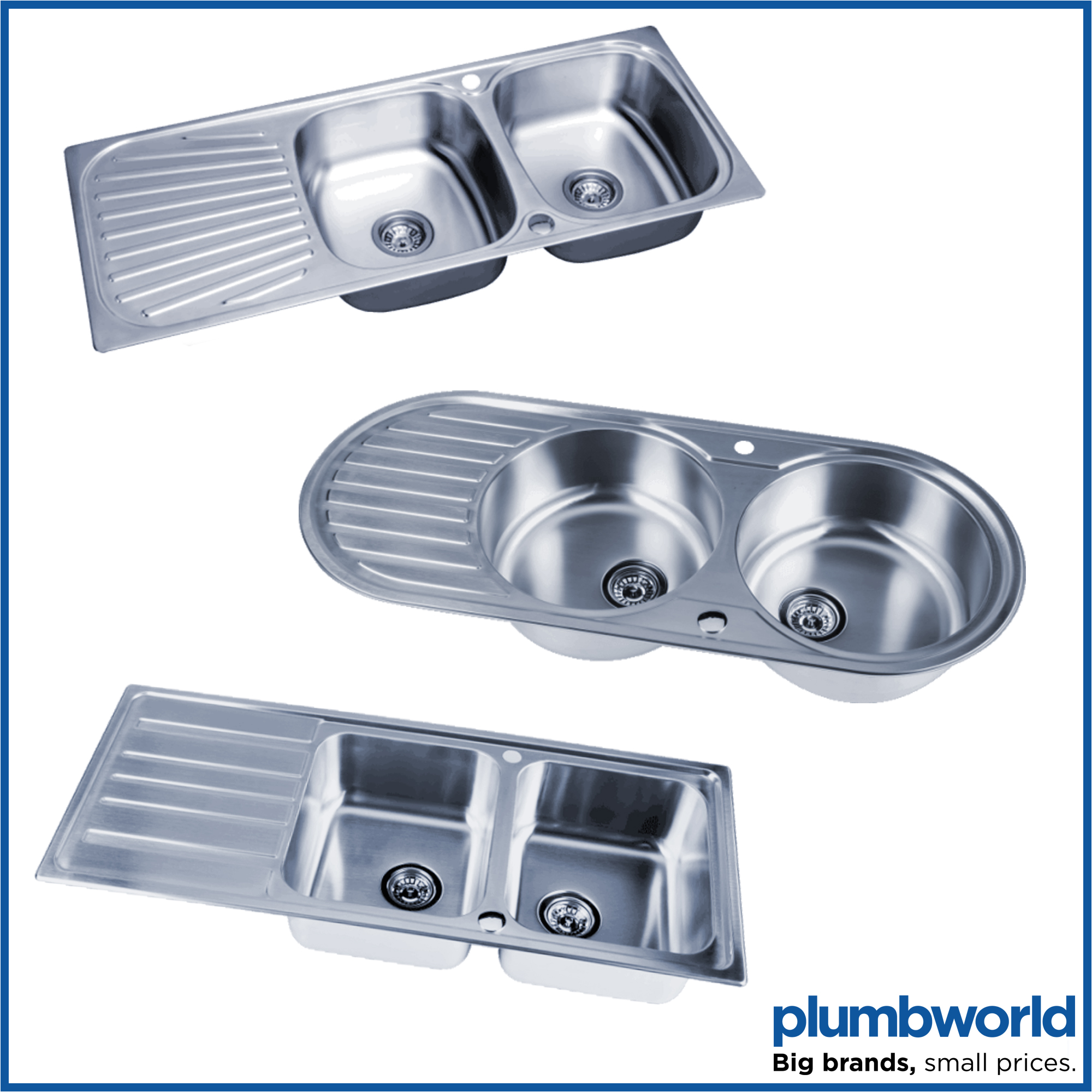 Traditional Mono Kitchen Sink Mixer Tap Twin Lever Handles Swivel Spout Chrome Ebay