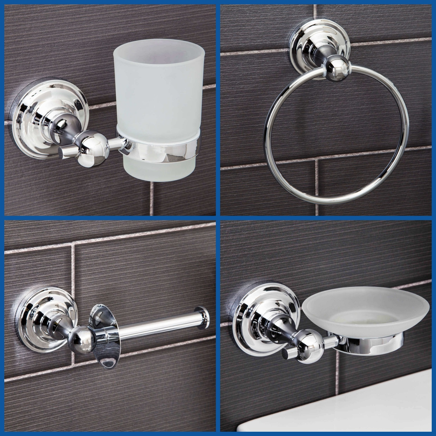 Bathroom Accessories.Details About Traditional Bathroom Accessories Set Toilet Paper Holder Towel Ring Soap Dish